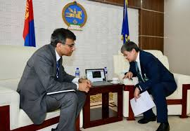 Mongolian and Russian Businesses Hold Online Meeting
